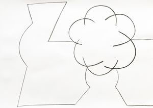 White Still Life 2 by Aurélie Gravas contemporary artwork