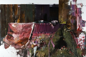 Duchamp's Funeral II by Adrian Ghenie contemporary artwork