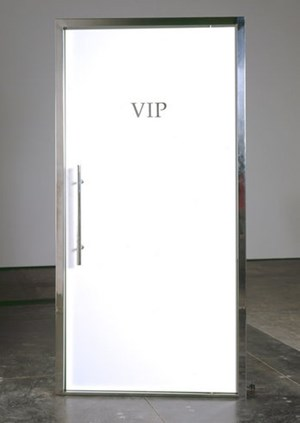 But I'm on The Guest List! by Elmgreen & Dragset contemporary artwork