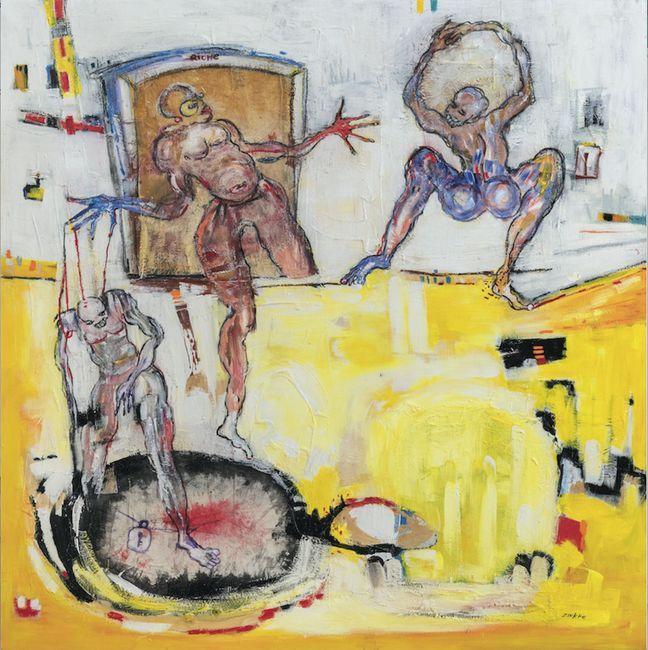 Malice by Dominique Zinkpè contemporary artwork