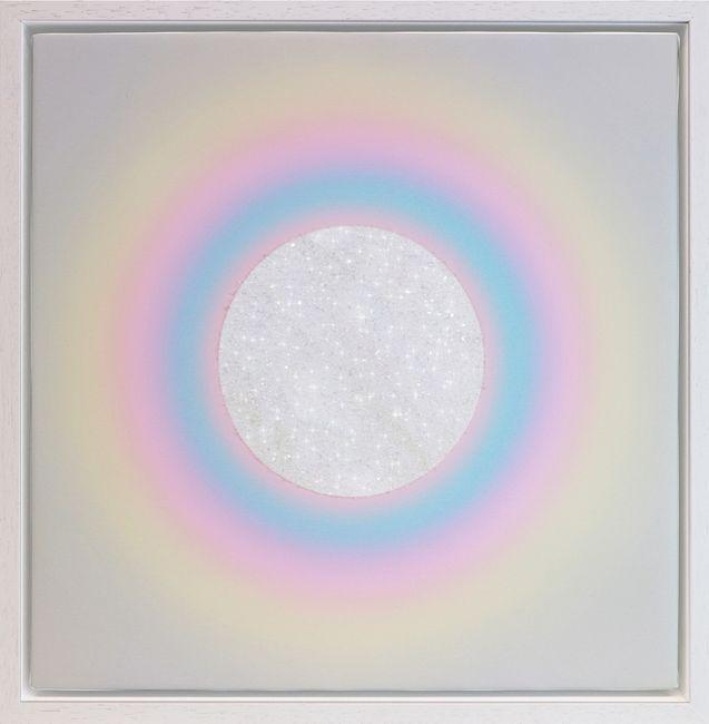 Rainbow Chakra by Lauren Baker contemporary artwork