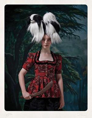 Crudelia De Mon Botanica by Jacqui Stockdale contemporary artwork