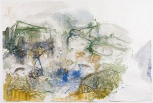 Räkay and Wäkwak, Durabodboi river by John Wolseley contemporary artwork