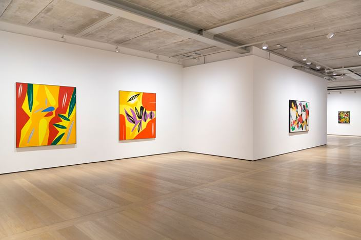 Exhibition view: Ernst Wilhelm Nay,Almine Rech Gallery, London (3 October 2017–13 January 2018). Courtesy the artist and Almine Rech Gallery, London. Photo: Melissa Castro Duarte.
