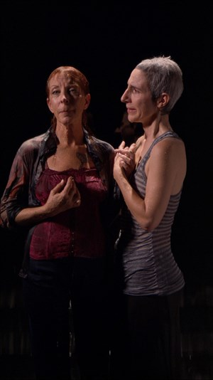 Two Women by Bill Viola contemporary artwork