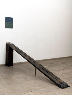 Ramp 2. (Salt) by Biraaj Dodiya contemporary artwork painting, sculpture