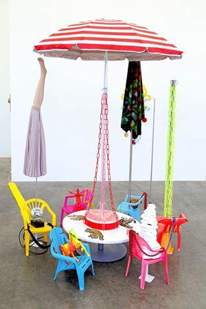 Carousel by Judy Darragh contemporary artwork installation, mixed media