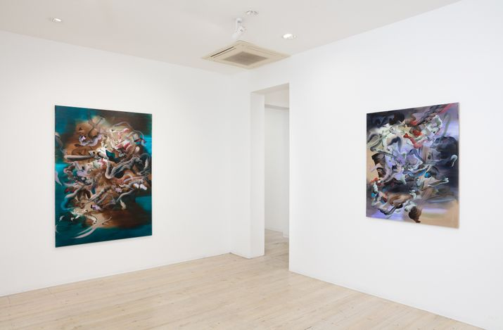 Exhibition view: Grace Wright, Making it all seem real, Gallery 9, Sydney (21 April–15 May 2021). Courtesy Gallery 9.