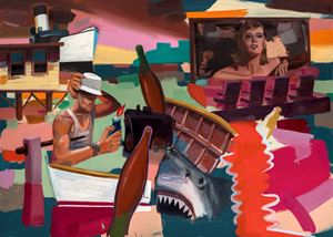 Bonnie & Clyde by Antonio Cosentino contemporary artwork