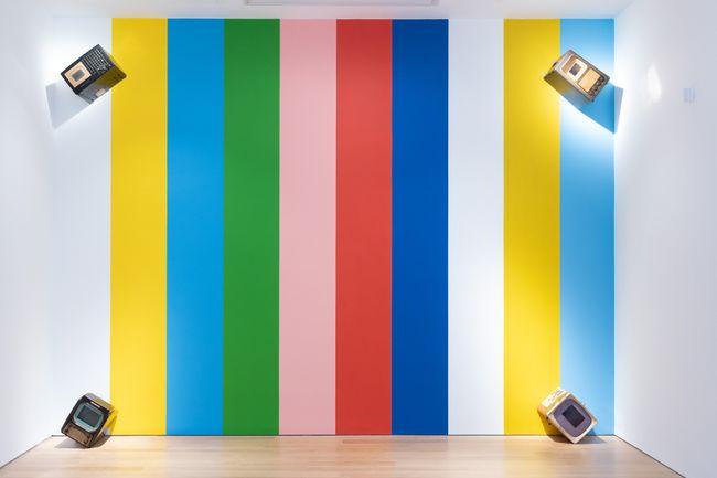 I Never Read Wittgenstein by Nam June Paik contemporary artwork