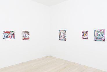 Exhibition view: Simon Blau,Faulty Narratives, Gallery 9, Sydney (25 October–11 November 2017). Courtesy Gallery 9.