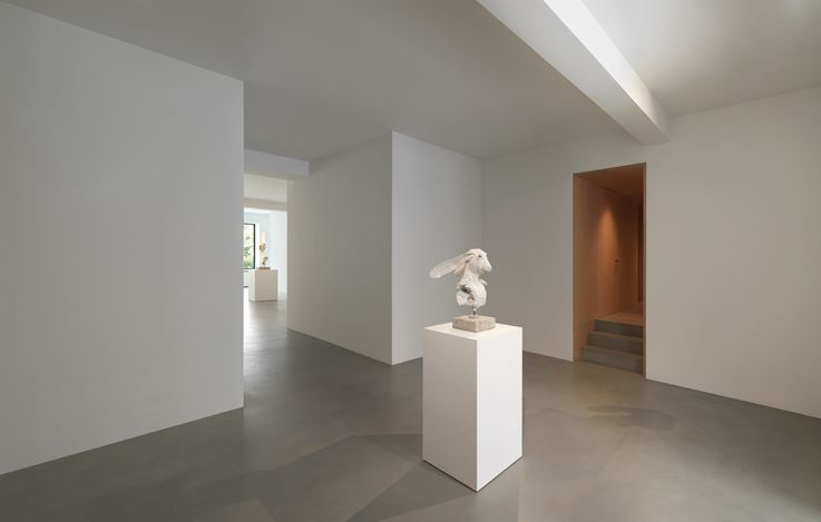 Exhibition view: David Altmejd, Rabbits, Xavier Hufkens, 44 rue Van Eyck, Brussels (3 September–17 October 2020). Courtesy Xavier Hufkens.