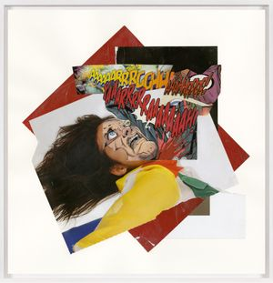 Untitled (Cut Throat) by Christian Marclay contemporary artwork