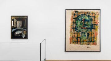 Contemporary art exhibition, Group Exhibition, Portraits / Abstraits at Almine Rech, Avenue Matignon, Paris, France