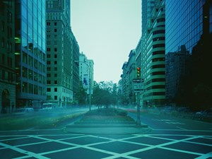 ON-AIR Project 110-9, the New York series, Park Avenue, eight-hour exposure by Atta Kim contemporary artwork
