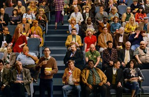 Crowd #9 (Sunset Five) by Alex Prager contemporary artwork