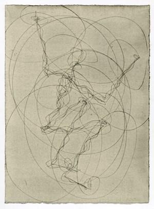 FEELING MATERIAL (LIFT) by Antony Gormley contemporary artwork