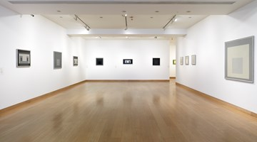 Contemporary art exhibition, Josef Albers, Black and White at Waddington Custot, London