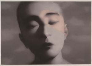 2007-Boy by Zhang Xiaogang contemporary artwork