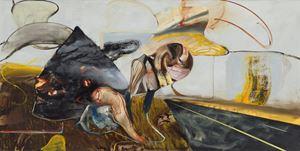 The Haystack by Adrian Ghenie contemporary artwork
