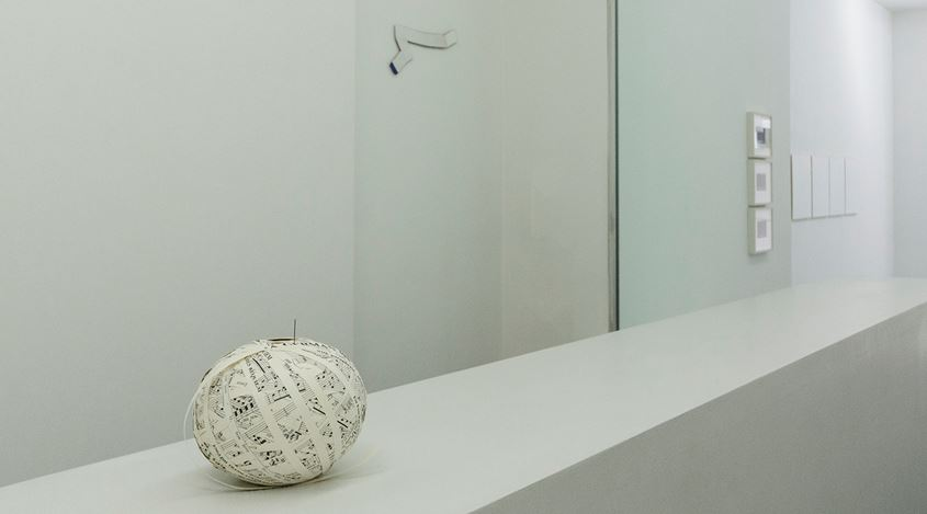 Exhibition view: Jill Baroff and Stefana McClure, What's Yours Is Mine,Bartha Contemporary, London (16 September–18 November 2017). Courtesy the artists and Bartha Contemporary, London.