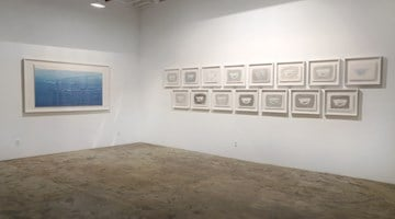 Contemporary art exhibition, Wang Gongyi, Winsor Blue at Chambers Fine Art, New York