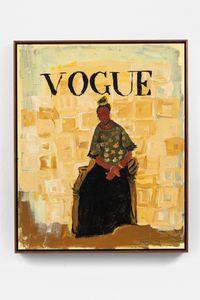 Ruth de Souza (Vogue Brasil) by Elian Almeida contemporary artwork painting