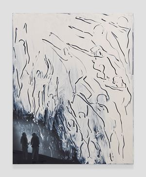 Cave Interior (Ancestors) by Tala Madani contemporary artwork
