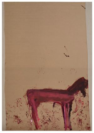 Untitled (from the Series: Das Trojanische Pferd) by Martha Jungwirth contemporary artwork