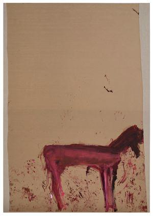 Untitled (from the Series: Das Trojanische Pferd) by Martha Jungwirth contemporary artwork