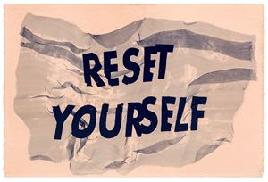 Reset Yourself by Raul Walch contemporary artwork painting