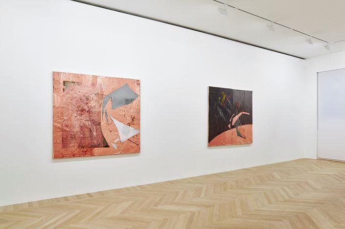 Exhibition view: Rudolf Polanszky,Gagosian, Paris (16 January–24 April 2021). Artwork: © Rudolf Polanszky. Courtesy Gagosian.Photo: Thomas Lannes.