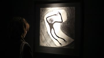 Contemporary art exhibition, Roger Ballen, The Theatre of Apparitions at Galerija Fotografija, Ljubljana