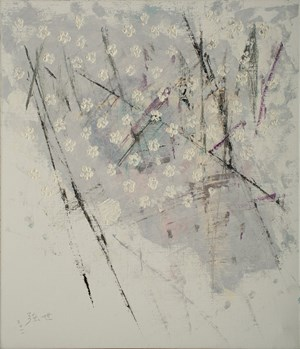 Century-old Plum Tree (Old Villa)《百年老梅(老豪宅)》 by Yeh Shih-Chiang contemporary artwork