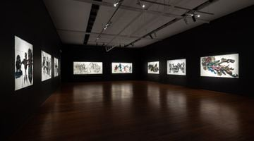 Contemporary art exhibition, Pierre Mukeba, Black Emotion at Roslyn Oxley9 Gallery, Sydney