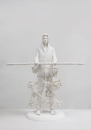 Against the blade of honour - Disciple by Tianzhuo Chen contemporary artwork sculpture