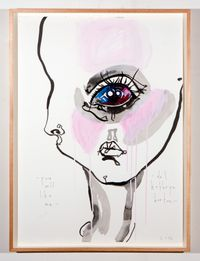 you will like me by Del Kathryn Barton contemporary artwork painting