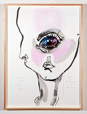 you will like me by Del Kathryn Barton contemporary artwork