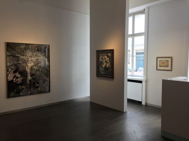 Exhibition view: Group Exhibition, Thank you for the Flowers, Beck & Eggeling International Fine Art, Düsseldorf (6 July–1 September 2018). CourtesyBeck & Eggeling International Fine Art.