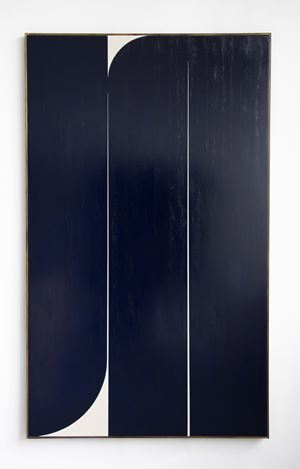 Dark Blue #1 by Johnny Abrahams contemporary artwork