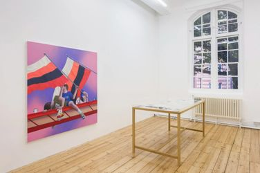 Thomas Eggerer,Stranded, exhibition view, Maureen Paley, London, 2021, © Thomas Eggerer, courtesy Maureen Paley