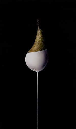 Untitled (pear) by Jackson Slattery contemporary artwork
