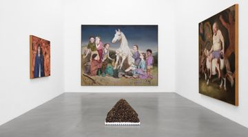 Contemporary art exhibition, Kati Heck, Bonnie Bonne Bon at Sadie Coles HQ, Davies Street, London, United Kingdom