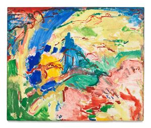 Landscape by Hans Hofmann contemporary artwork