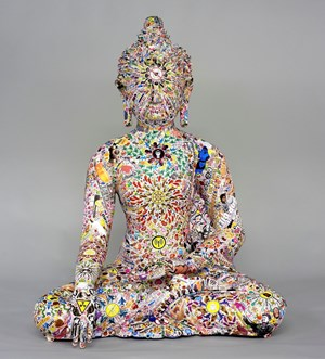 No Love Buddha by Gonkar Gyatso contemporary artwork