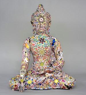 No Love Buddha by Gonkar Gyatso contemporary artwork