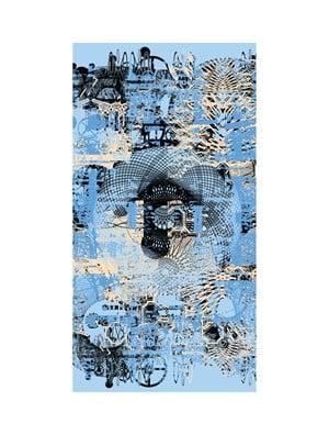 4-fold landscape L 137 by Sang Nam Lee contemporary artwork