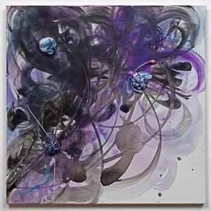 Spirit Writing by Shinique Smith contemporary artwork