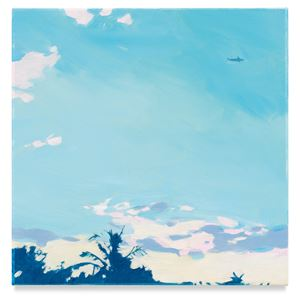 Palm Tree Sky by Isca Greenfield-Sanders contemporary artwork