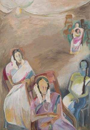 Waits by Sosa Joseph contemporary artwork painting